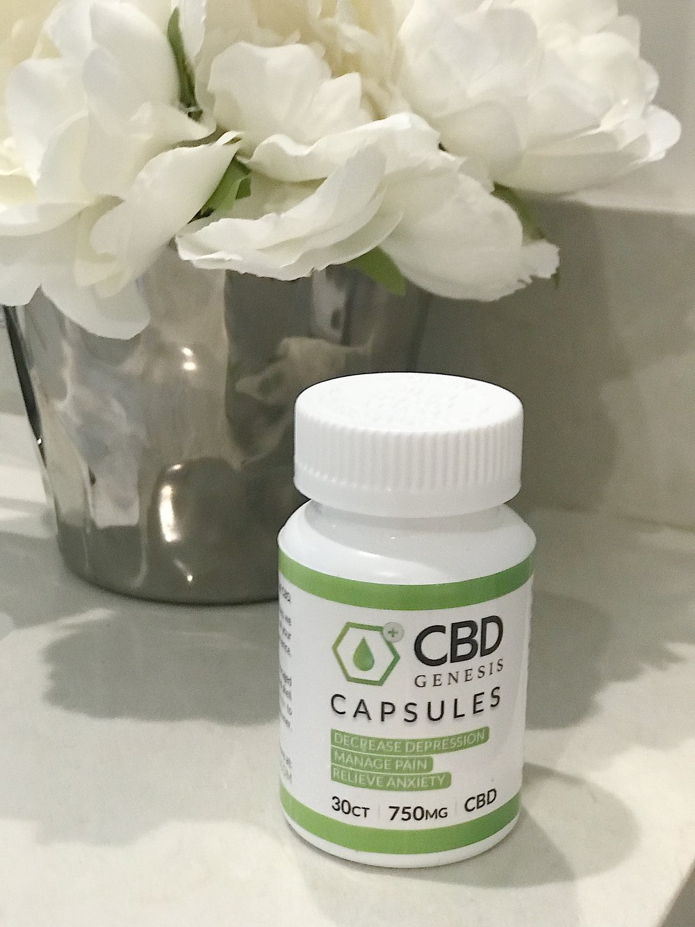 CBD Genesis 750MG Capsules     Photo:  Reformation Health