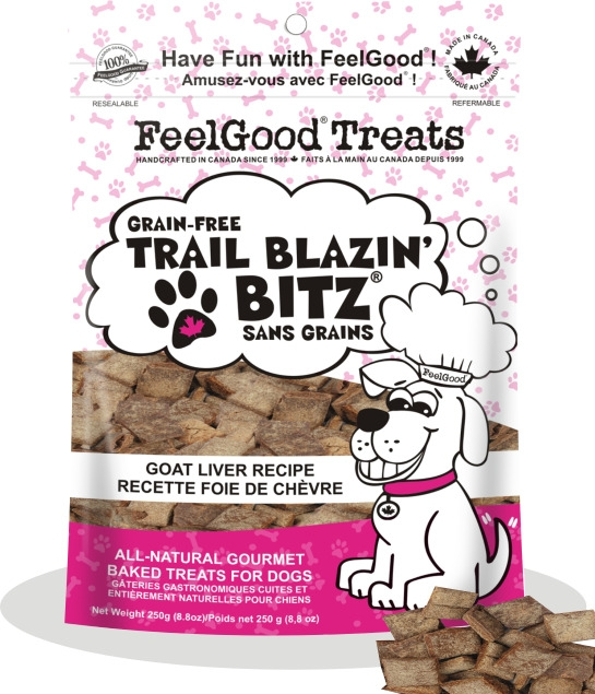 Bronze treats: FeelGood Trail Blazin Bitz