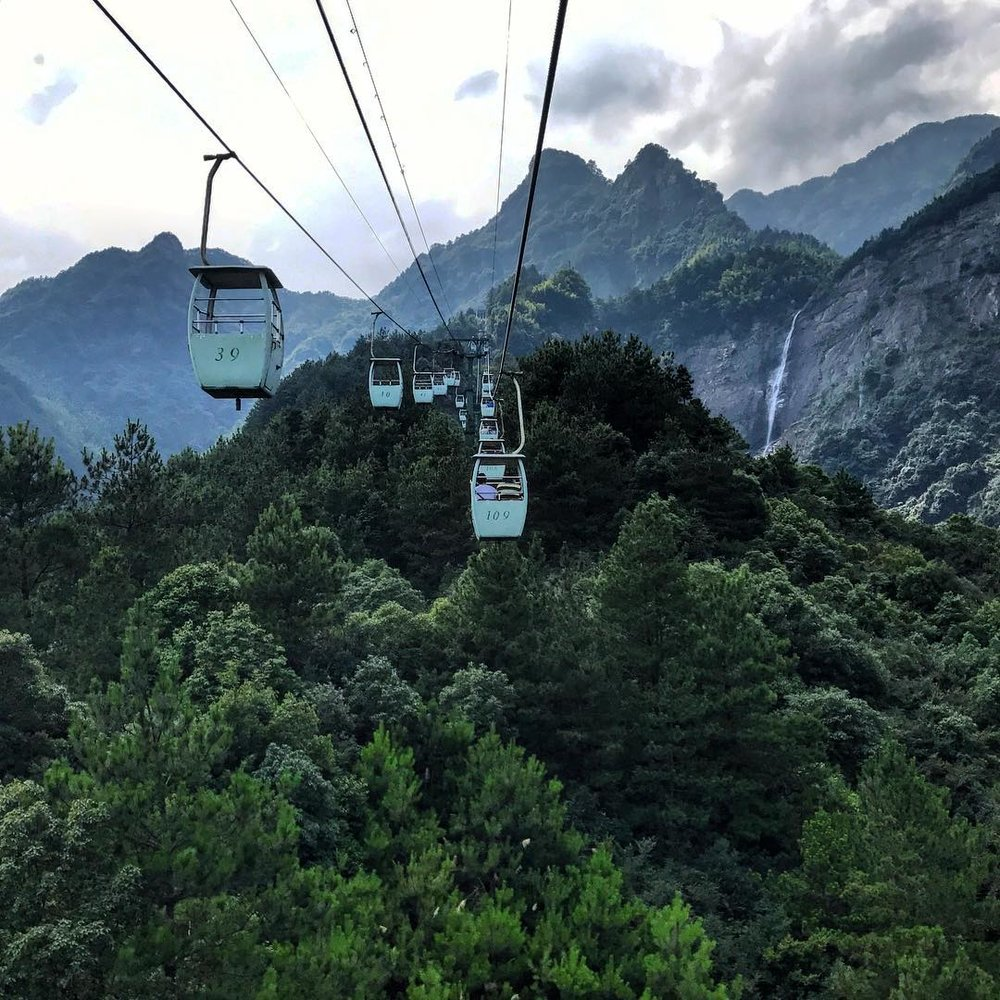 Lushan Park Cable Car China
