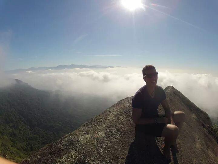 Pico do Papagaio Ilha Grande Brazil