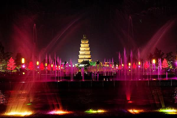 Adorable-Fountain-Show-At-Giant-Wild-Goose-Pagoda-In-Xian.jpg