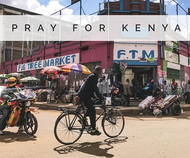 Last month, the Supreme Court in Kenya annulled the August 8th election following accusations of irregularities by the opposition party, and now paving the way for a new vote. Kenyans will vote today, October 26th. Let's pray for God's will to be done, for God's protection, and for a peaceful reelection. #prayforkenya