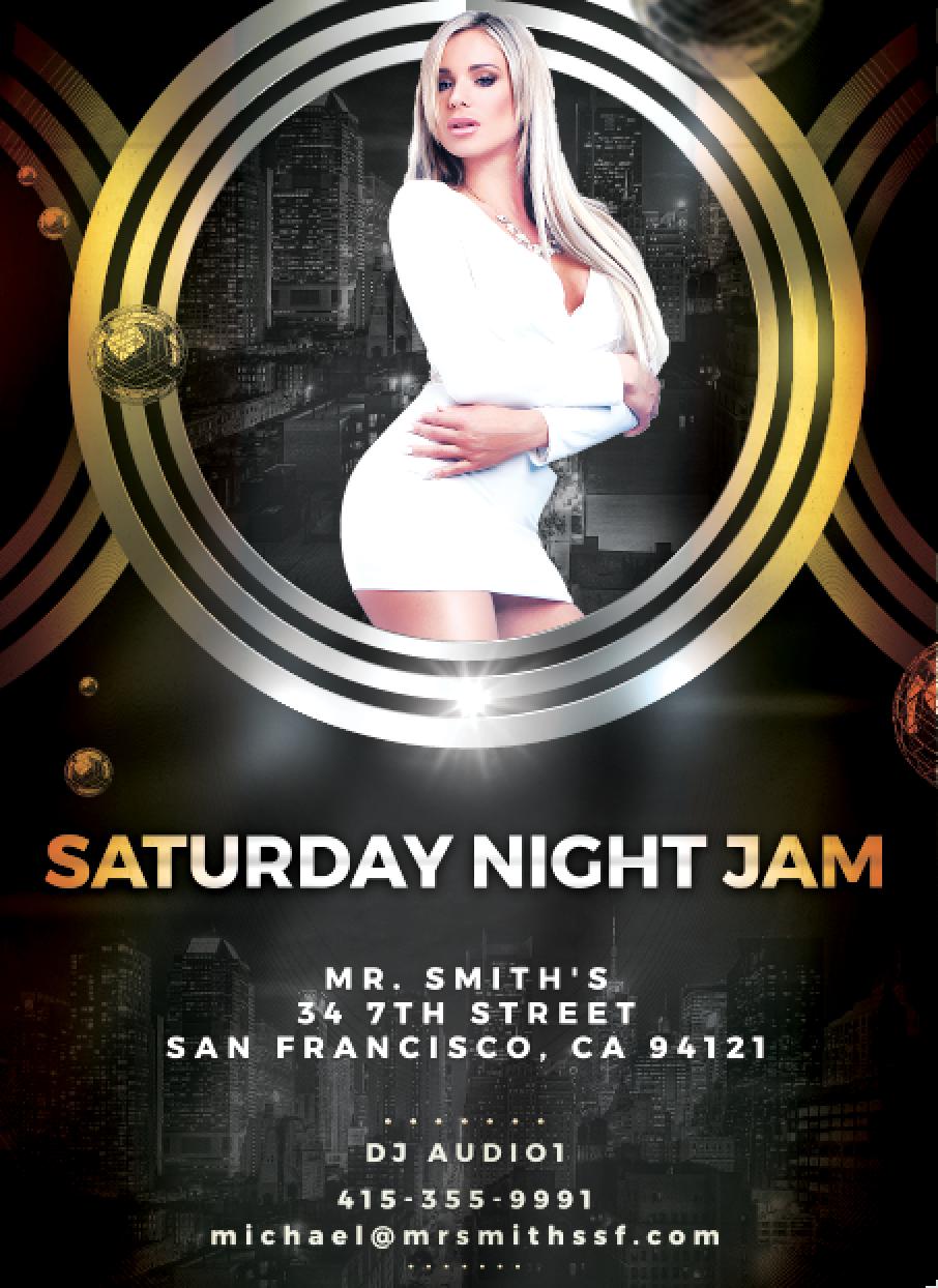 Saturday night Jam DJ Audio1 screen shot.png