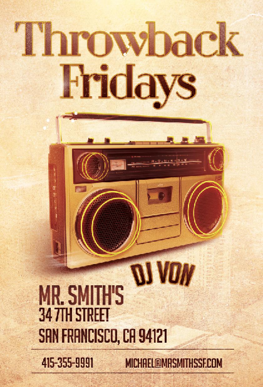 Throwback Fridays DJ VON Screen shot.png