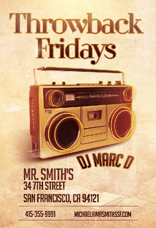 Throwback Fridays DJ Marc D Screen shot.png