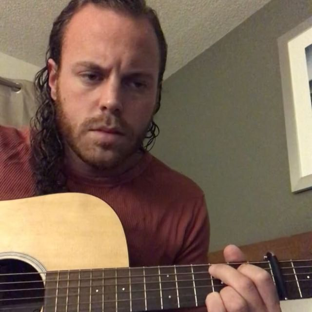 Can somebody stop leaving this guy alone in hotel rooms? #songwriting #songwriter #originalsong #originalmusic #singer #sing #fingerstyleguitar #folk