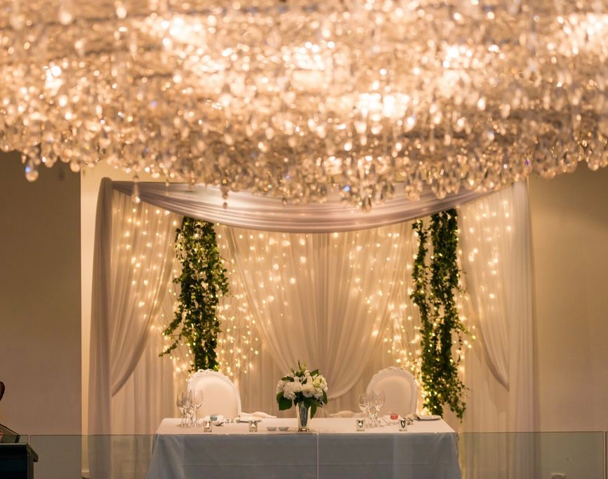 La lumiere bespoke draped backdrop junglespirit Image collections