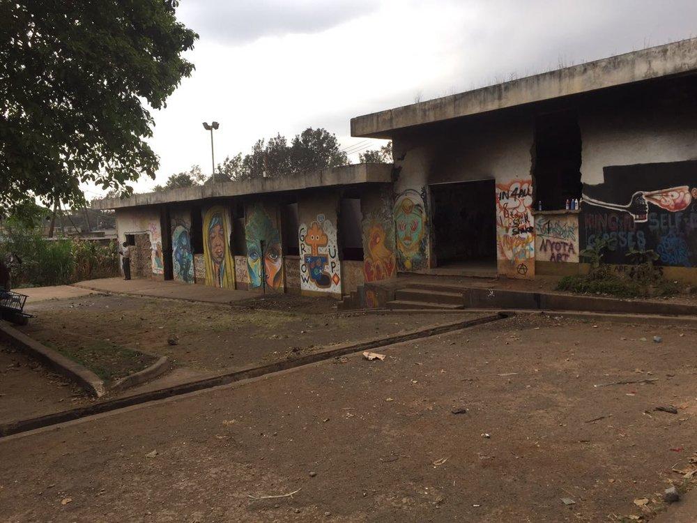 Kibera Slums - Nairobi, Kenya
