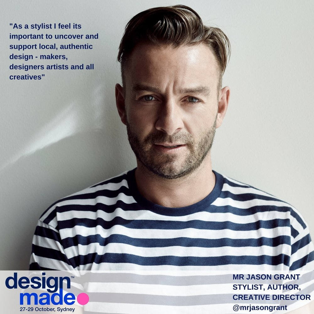 Jason Grant - Super Stylist Mr Jason Grant's work has appeared in many Australian and International magazines including Inside Out, Belle, Vogue Living, Australian House and Garden, Real Living, The Sunday Times Uk, Milk Decoration, Grazia Magazine Uk, Living Etc and more.Jason also works styling for Brands big and small these include David Jones, King Living, Reece Bathrooms, Pottery Barn, West Elm, Country Road, Sheridan, Murobond paints, Major Minor Sydney, Palm Beach Collection, Myer, Armadillo & Co and more.He has published 3 books with Hardie Grant books which are distributed in the USA by Rizzoli Books Chronicle Books (his 3rd book released this September)Living in Bondi, Sydney, Australia, He loves the beach. His style is laid back, relaxed, causal and quintessentially Australian. He is not a fan of over styled homes but loves real spaces that are lived in and loved, that reflect the owners personality. Its all about creating feel good style!He generally styles for the camera for photographs but also works on selected real space projects both residential homes and commercial spaces, big or small.