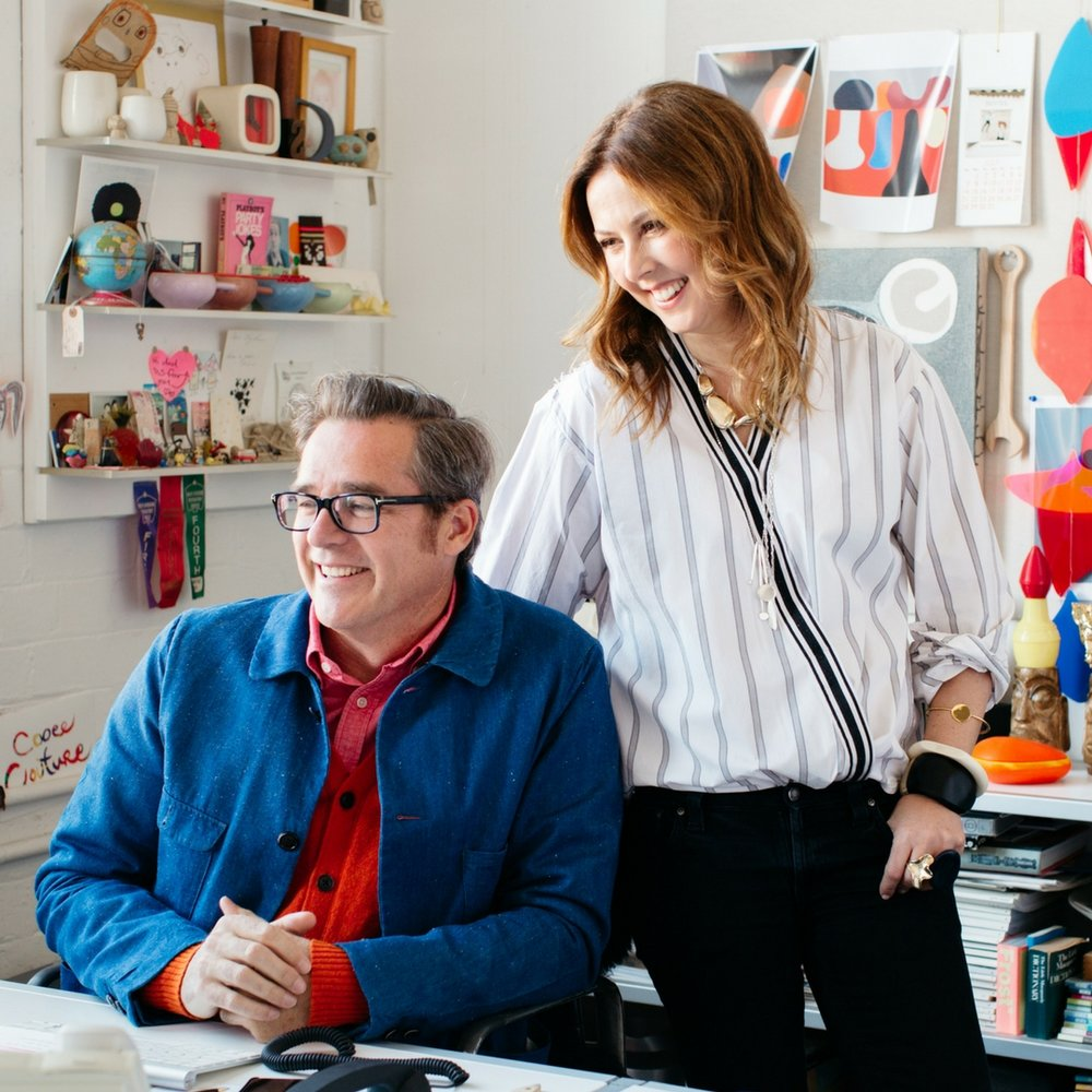 Stephen Ormandy & Louise Olsen