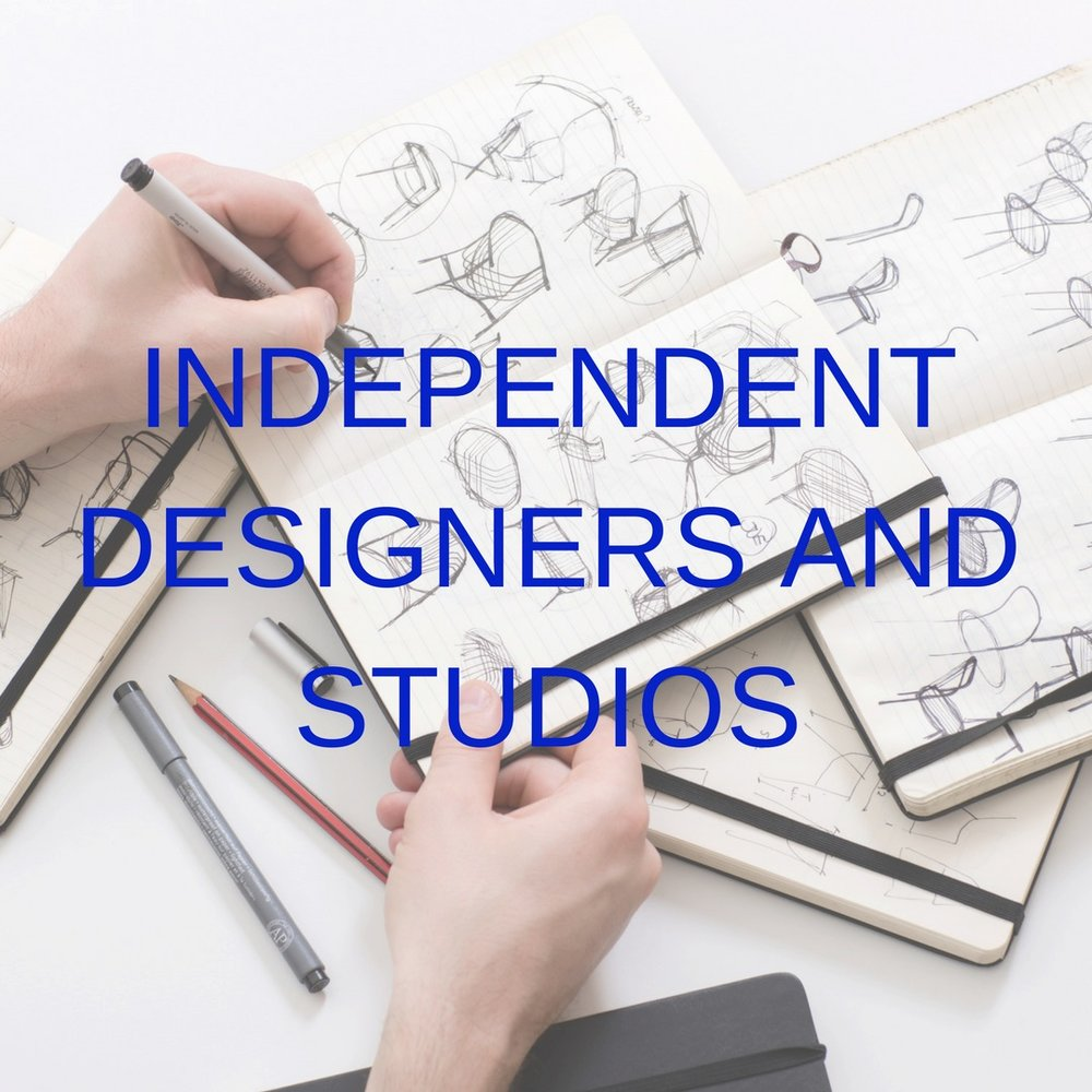 independent designers and studios
