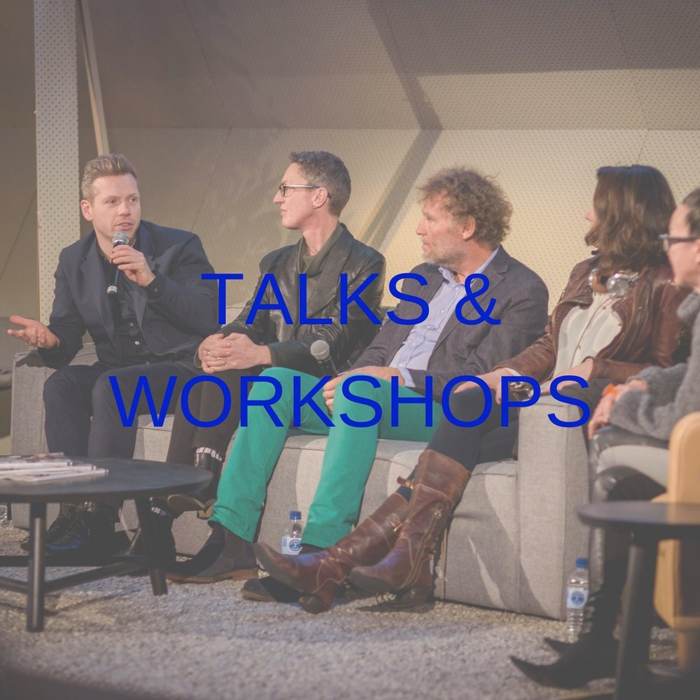 design made workshops and talks