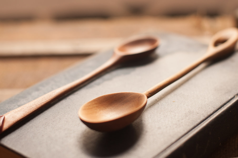 10.30am - 1.30pm   SPOON MAKING WORKSHOP with CAROL RUSSELL 3 hour workshop Presented by Hydrowood & Design Tasmania (over 18 only). $160 includes all materials and tools.  Limited spaces available, no experience needed.