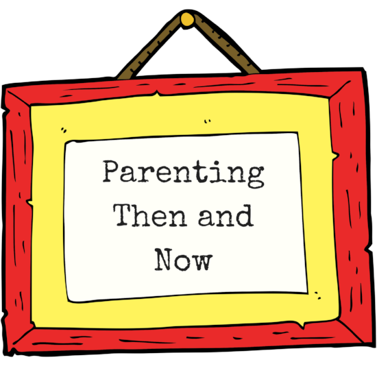 Parenting Then and Now Podcast Logo