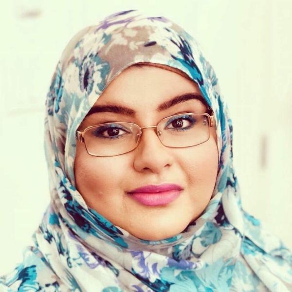 Journalist and writer Fariha Naqvi