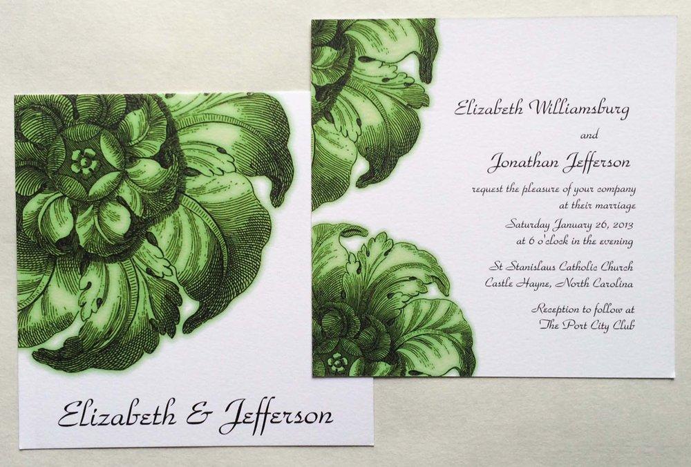 Wedding invitations on Zazzle