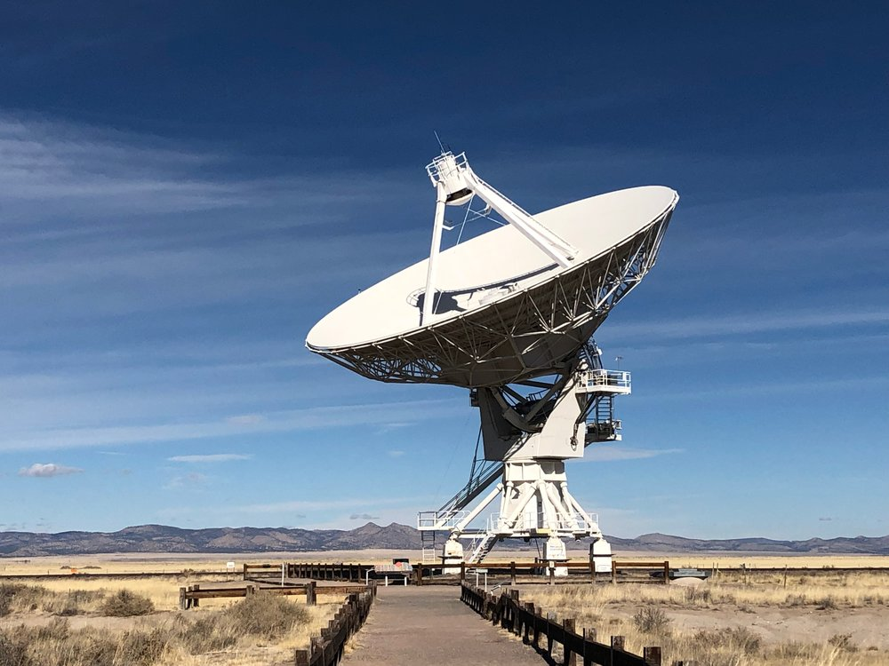 Radio Antenna from The Very Large Array, New Mexico