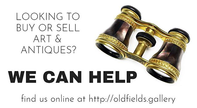 Looking to buy or sell art & antiques? We can help! Link in profile.