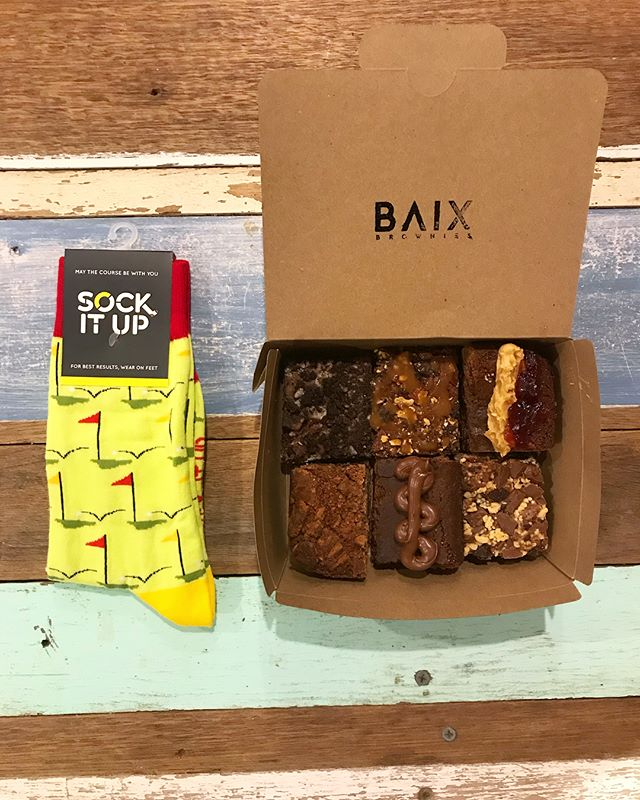 We are excited to announce we have partnered with @sockitup_au for Father's Day! Hit us up for a 6 pack of mixed brownies and a pair of socks for $35 + delivery. These are just a few of the styles, there are plenty more to choose from 👌