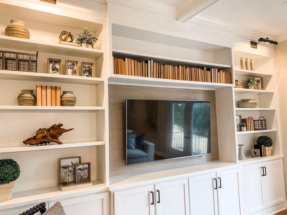 built-ins & fireplaces -