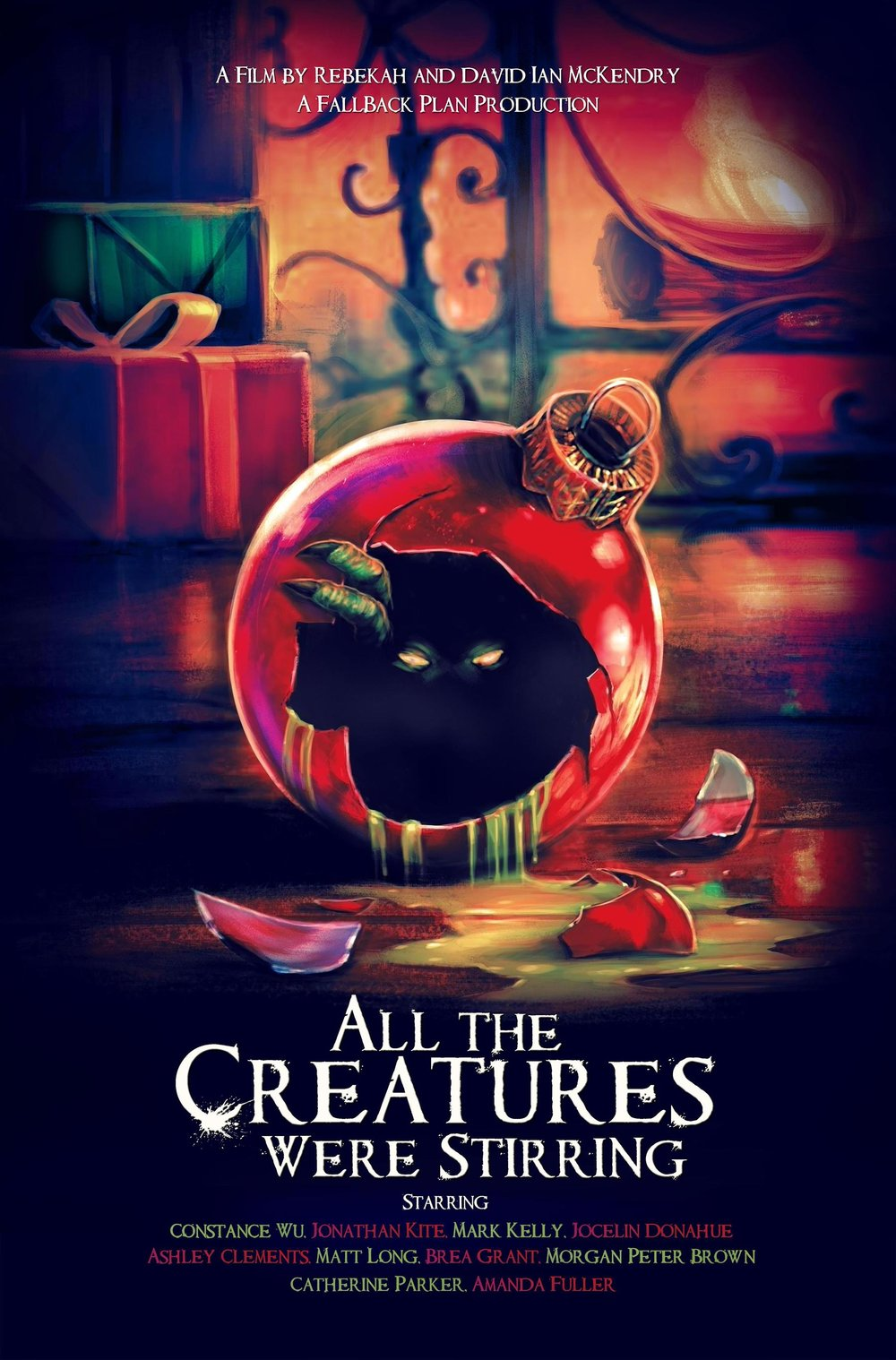 All the creatures were stirring - Coming soon, All The Creatures Were Stirring is a horror-comedy in which Jenna (Ashley Clements) finds herself on a very strange date. Also starring Constance Wu and Amanda Fuller.