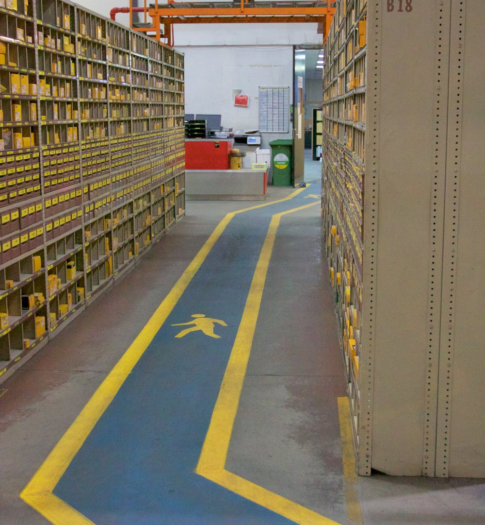 Warehouse Safety Walkway