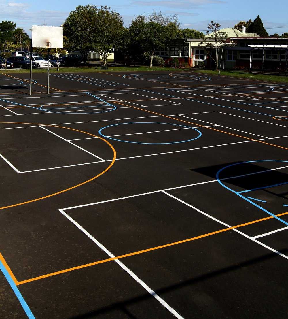 Sports Courts Tapuwae Netball Basketball Tennis