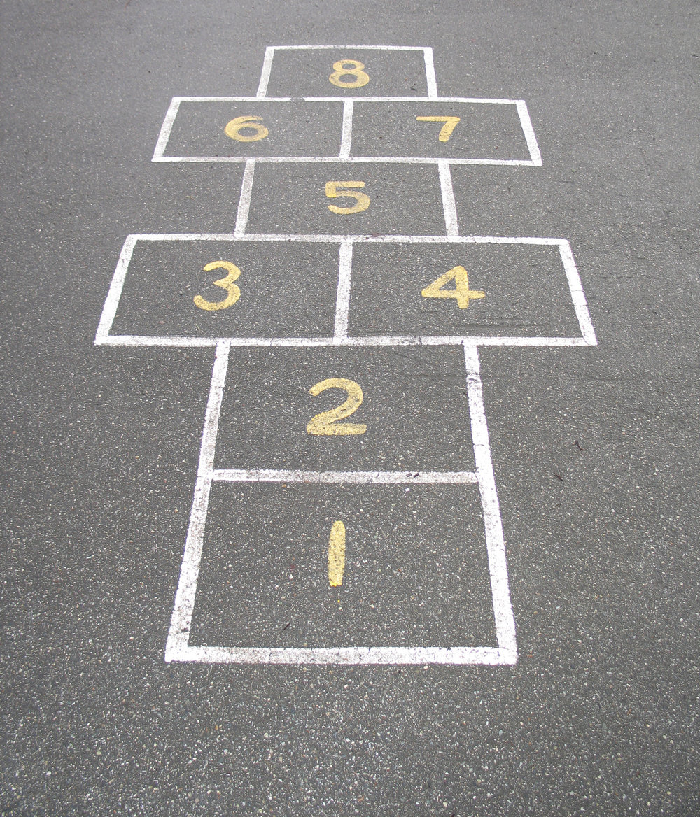 Sports Courts Netball Basketball Tapuwae Tennis Hopscotch