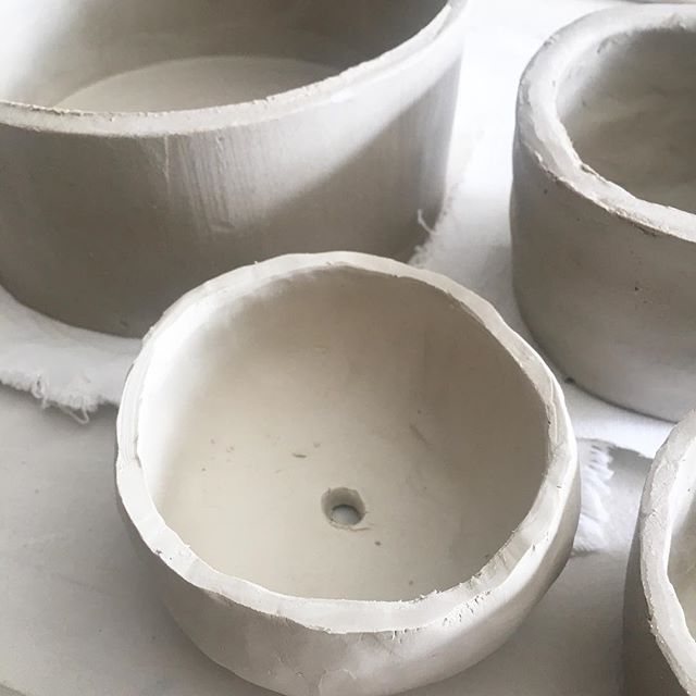 My planter obsession has led me into the tutelage of the truly talented @reed_ceramics. Thank you so much for today Pam - I can't wait to see how my first babies turn out 🙌