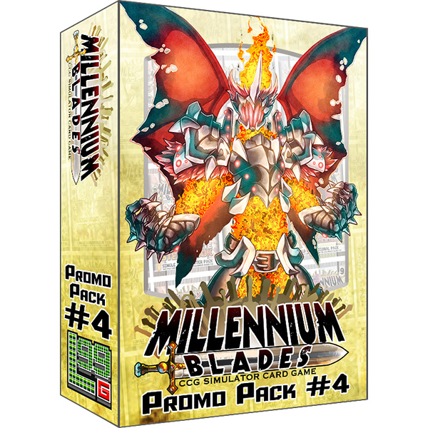 Final Bosses - Bring the Final Bosses of Set Rotation to your Millennium Blades Store Deck! This is an Expansion. Millennium Blades is required to play. Features four new Master-Level card sets: Wrath of the Druid Kings, Eldritch Entertainment Group, They Game From Space, and TCG-lluminati, plus additional bonus accessory cards!