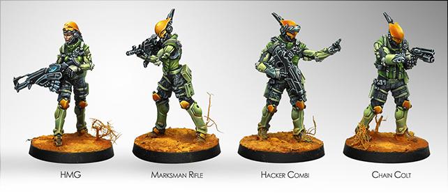 Druze Shock Teams - Mercenaries