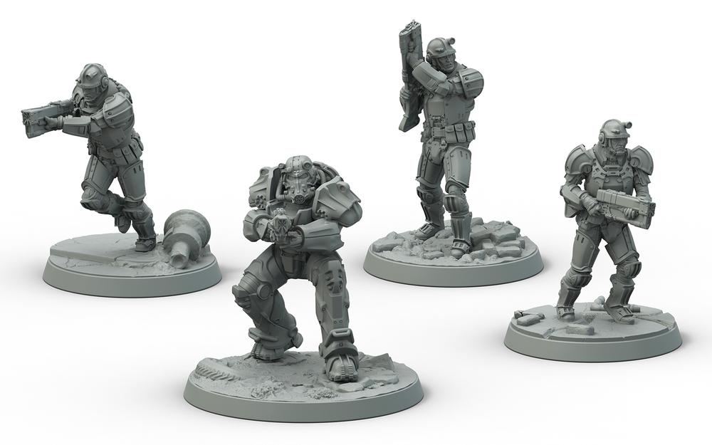 Frontline Knights (Brotherhood of Steel)