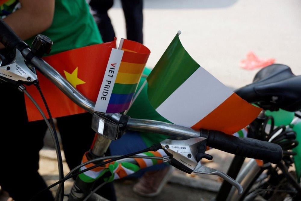 Những chiếc xe với hai sắc cờ Việt - Ireland