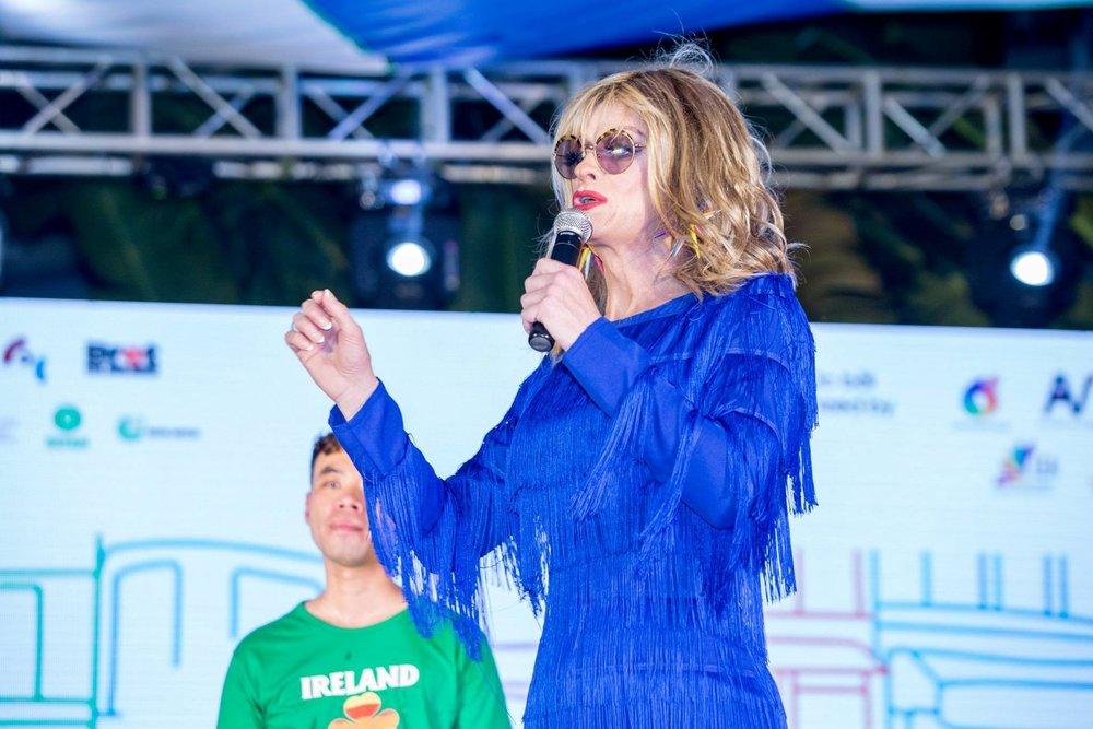 Panti Bliss kêu gọi về bình đẳng giới trong Ngày hội tự hào
