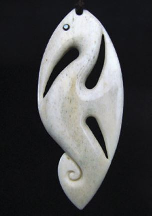 An early sea horse carving of mine