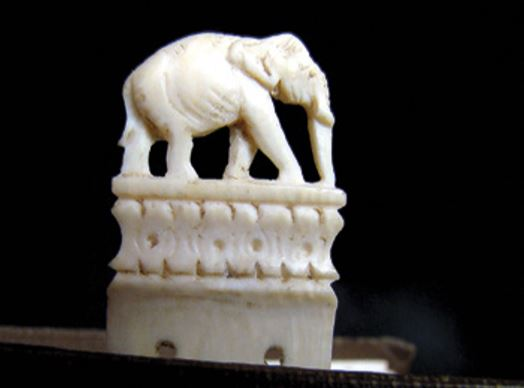 Ivory bookmark from India