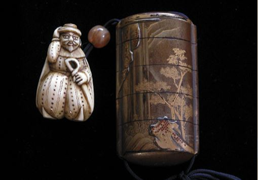 Nineteenth-century Japanese netsuke set, from the J. & D. Glover collection
