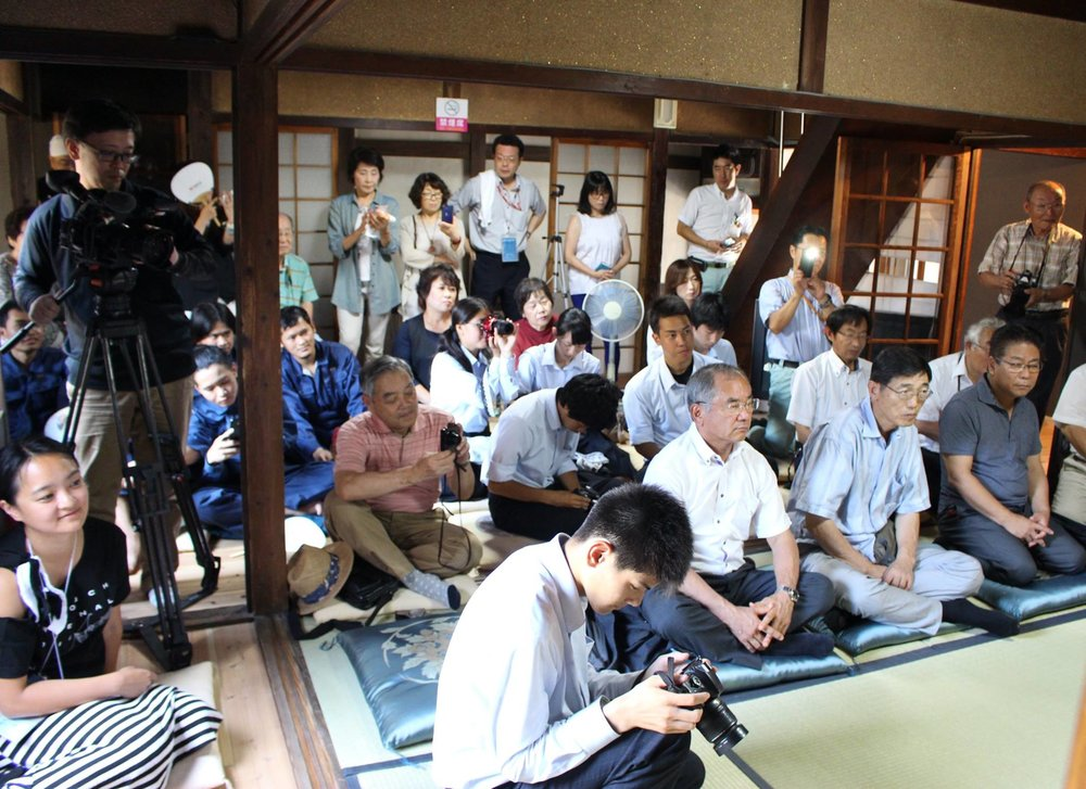 Setouchi Triennale_Sesaji Segoro - The Daughter of the Ocean, Audiences, Media and VIPs