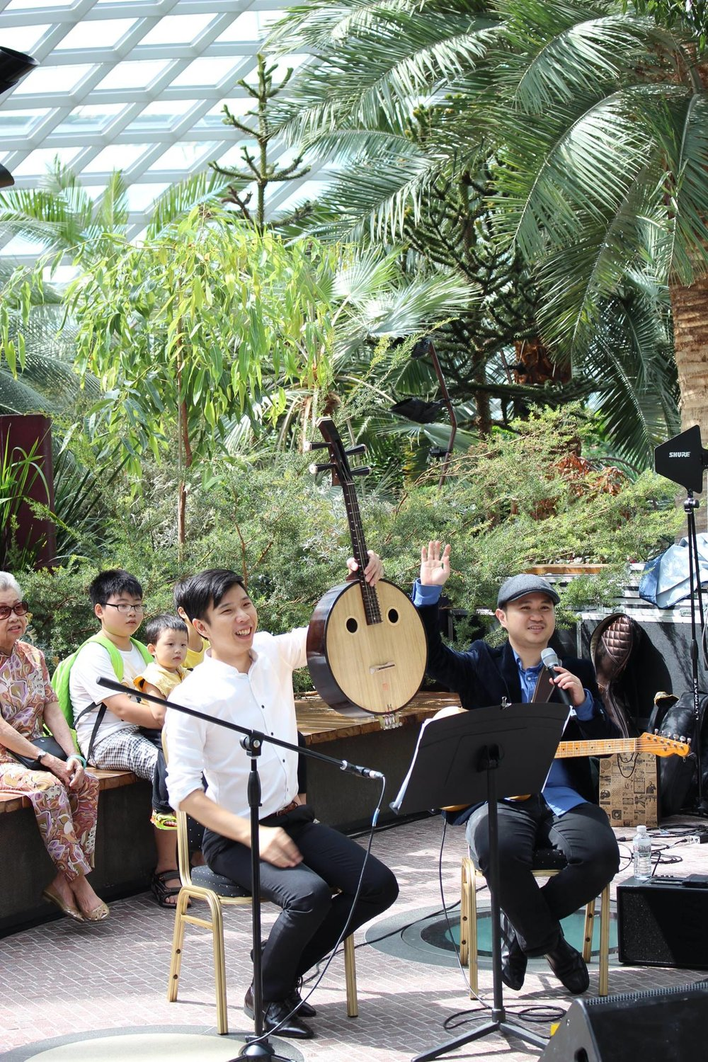 Christmas Melodies in the Flower Dome_Performance