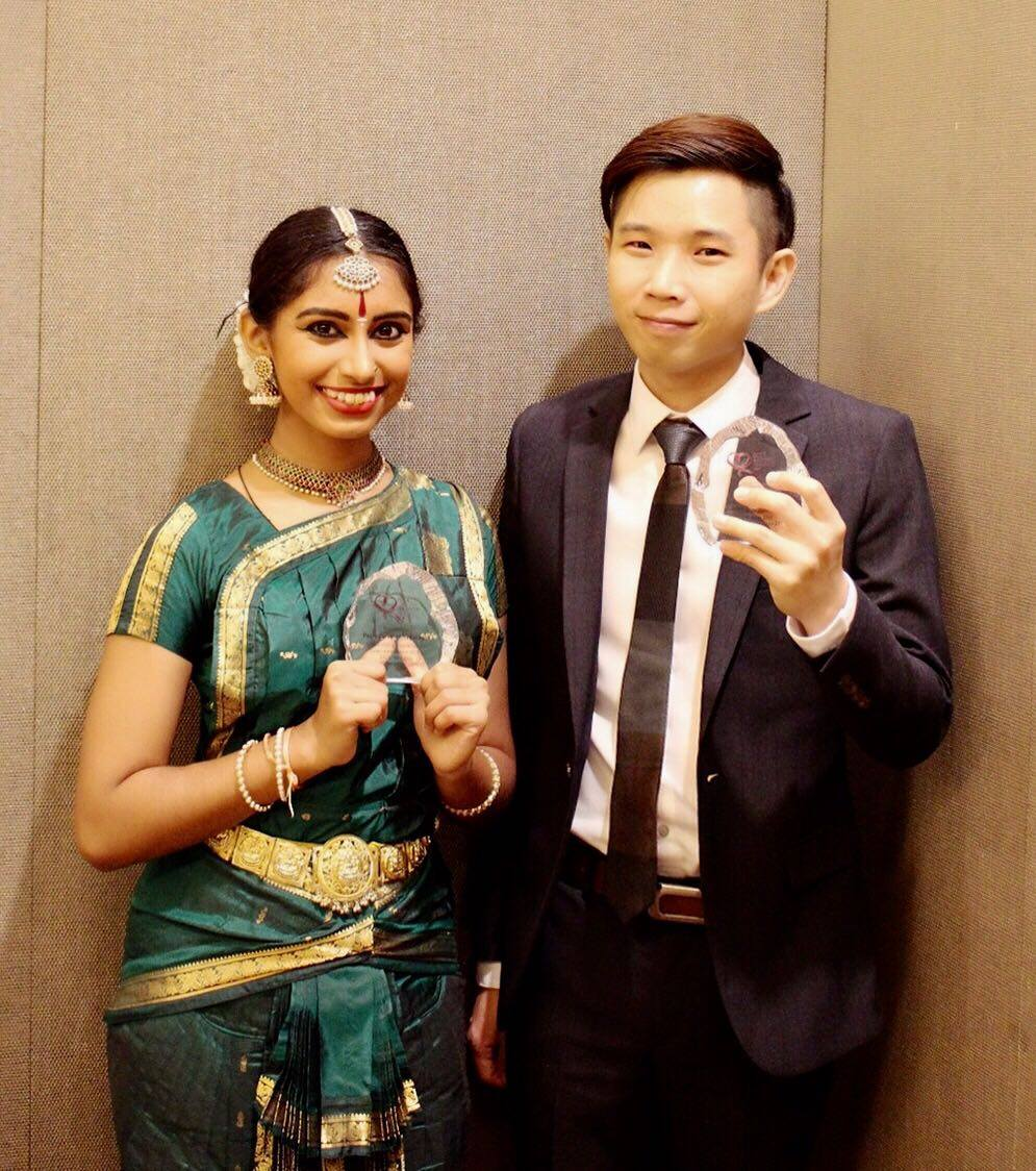 SICC May Day Charity 2017_Neil Chua and Priyadarshini Nagarajah