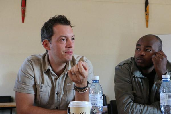 Mentor at Docubox at filmmaker, and Kevin Kamau