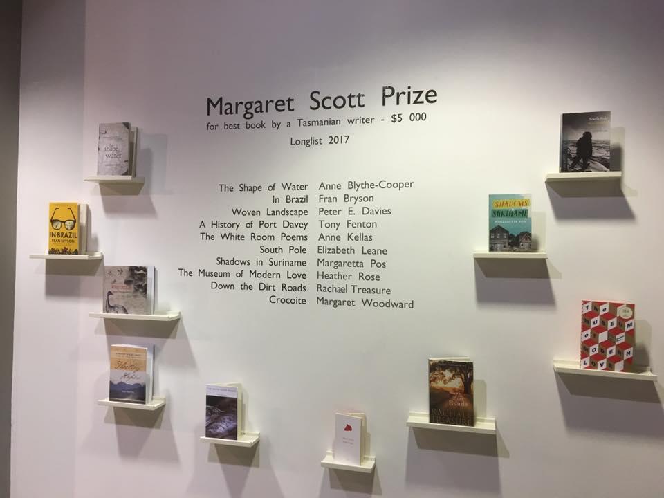 Margaret Scott Prize, longlist 2017