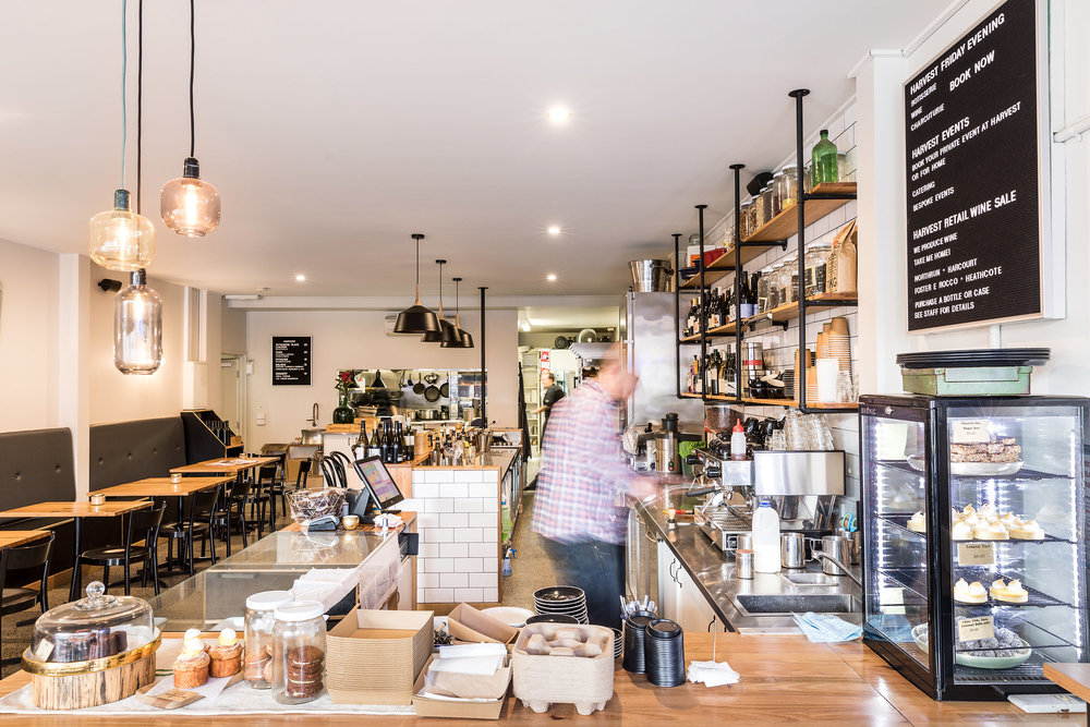 One of Bendigo's Best Cafes. - Harvest is really quite special. As well as great coffee Harvest has AMAZING home made croissants and other goodies.