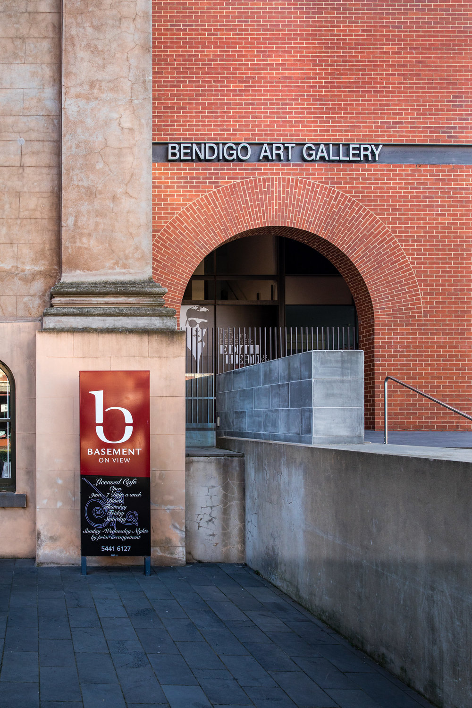 Art Gallery Entrance. Photo Credit: Chris Jack Photography.