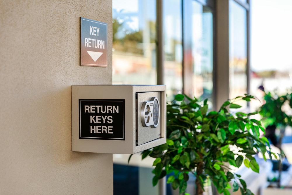 The Key Return Safe