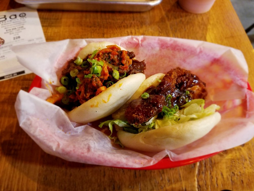 My first meal at  Bao : Seoul Beef Bao & Chicken Katsu Bao | ebbony&lune