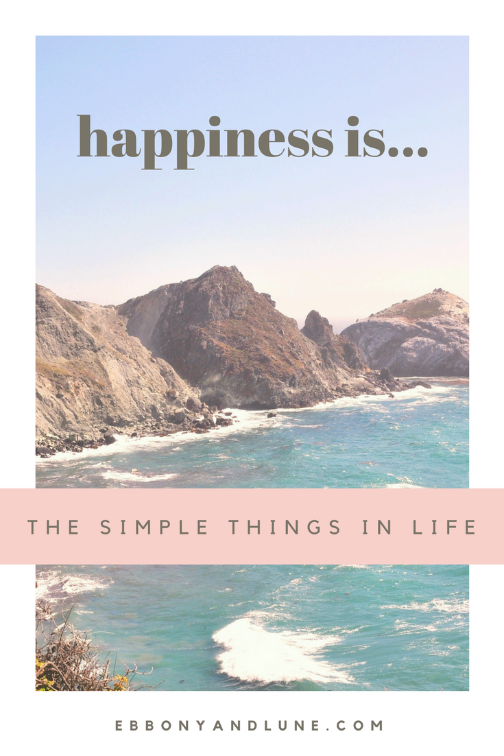 Happiness Is... The Simple Things In Life (Pin)