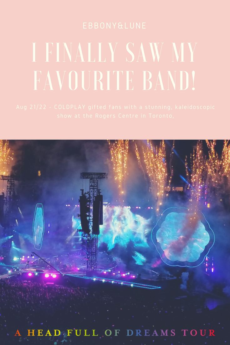 Coldplay Toronto 2017 Tour