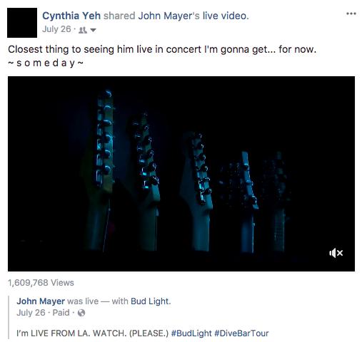 John Mayer Status