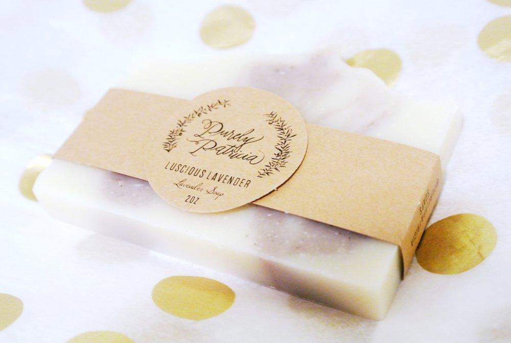 Purely Patricia Luscious Lavender Soap | ebbony&lune